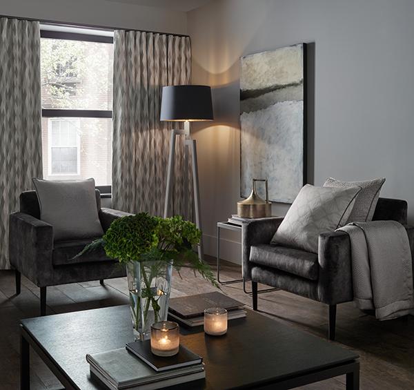 dark decor living room