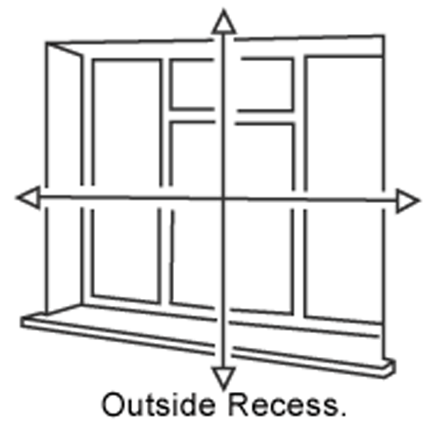 outside recess measuring guide