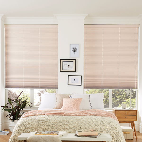 pinch pleated cellular blinds