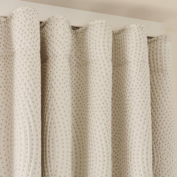 wave curtain header